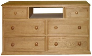 Solid wooden cabinet made in the uk