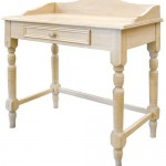 Hand made wooden table