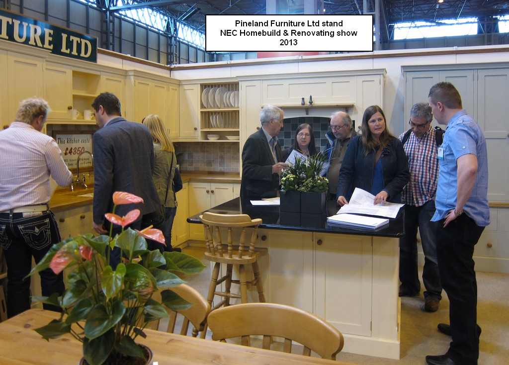 Pineland Kitchens at the NEC