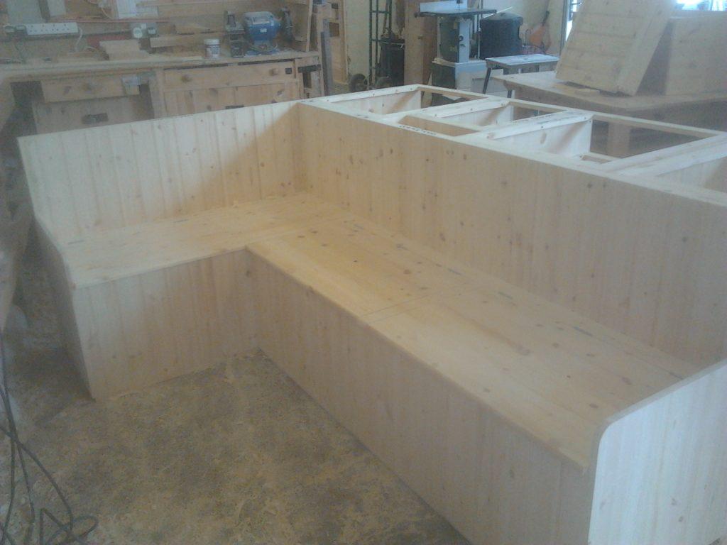 Custom made kitchen Bench